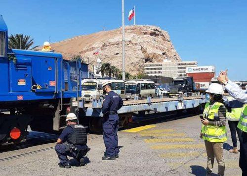 En Chile califican como un hito histórico el reinicio de operaciones del ferrocarril Arica-La Paz